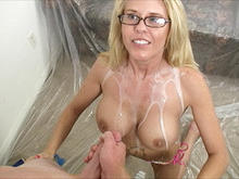 MILF GRACE monster facial
