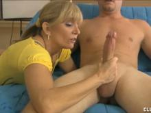 Granny Makes Jonny Spurt Jizz