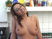 European Chick with Nice Body Fucked Raw-Dog!