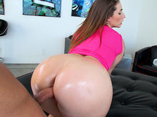 English Chick Has A HUGE Ass