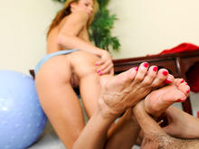 Alexis Fawx Magical Feet Action