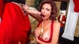 big tits red head whore takes a cock in every hole