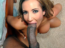 Porn-Star Fucked By A Big Black Monster Cock!
