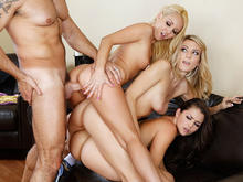 Allie Haze, Amanda Tate, Aaliyah Love in I Have a Wife