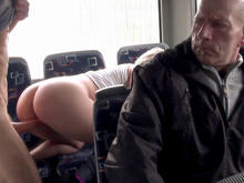 Ass-Fucked on the Public Bus