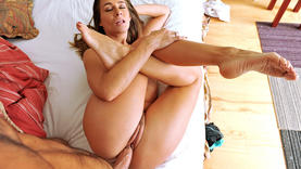 horny cowgirl makes deep throat