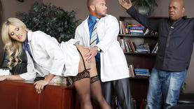 milfs swallow cock with doctor