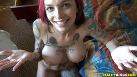 skinny red hair pornstar squirting