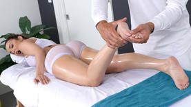 milf and latina milf getting sexy massage