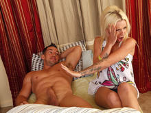 Stevie Shae & Johnny Castle in My Sisters Hot Friend