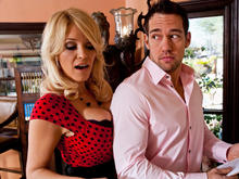 Charlee Chase & Johnny Castle in Seduced by a cougar