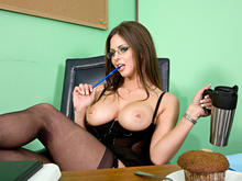 Rachel Roxxx & Charles Dera in Naughty Office