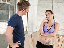 Jayden Jaymes & Danny Wylde in Naughty Athletics