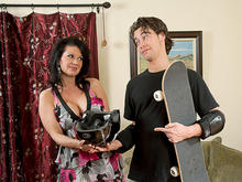 Raquel Devine & Seth Gamble in My Friends Hot Mom