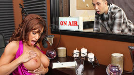 milf fucking hard in the office