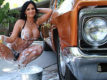 Phoenix Marie Does A Carwash And Something Else