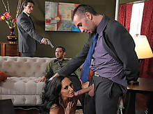 Ava Addams Pointed With A Flesh Gun