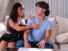 Leona Dulce & Seth Gamble in Latin Adultery