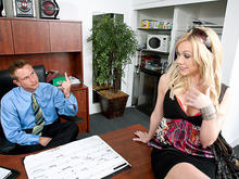 Samantha Sin & Bill Bailey in My Dad's Hot Girlfriend