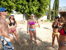 Hunter Bryce, Sadie Swede, Chanel Preston, Kortney Kane & Johnny Sins in 2 Chicks Same Time