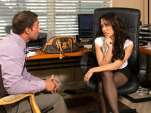 Capri Cavanni & Rocco Reed in Naughty Office