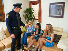 Julia Ann, Brandi Love, Eva Karera & Johnny Castle in My Friends Hot Mom