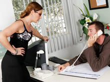 Samantha Ryan & Jordan Ash in Naughty Office